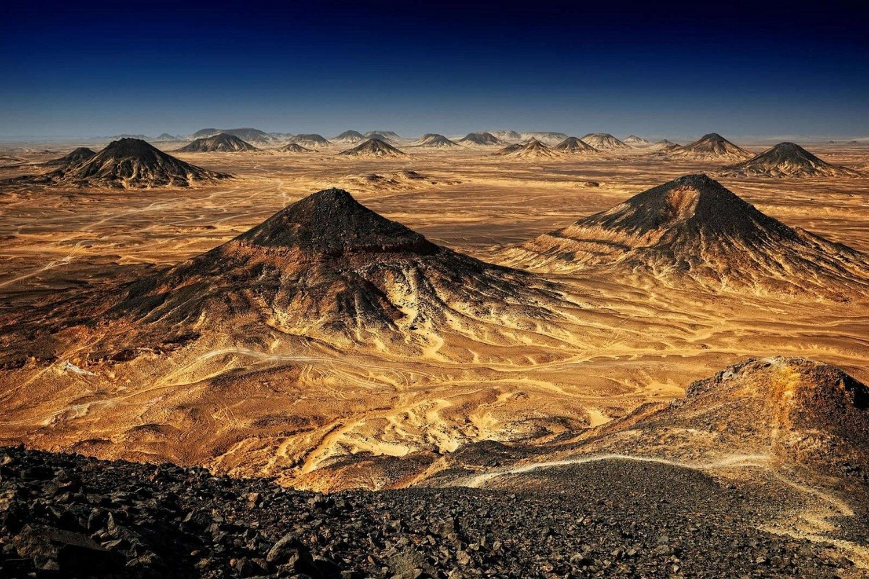 Black Desert scenery, Egypt