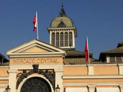 Central Market Santiago Chile