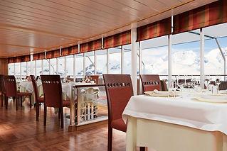 Silver Cloud restaurant area