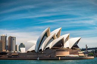 Sydney Opera House, Sydney Australia - 2023 solar eclipse tour