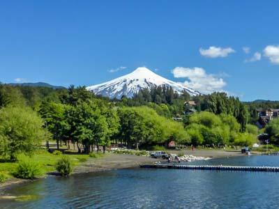 Lake Villarrica Chile