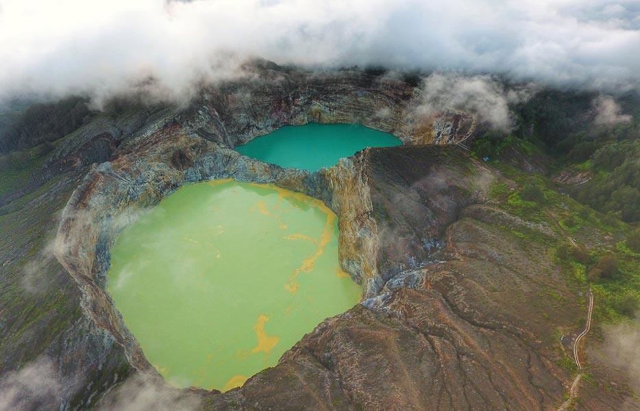 Kelimutu Crater Lakes Flores