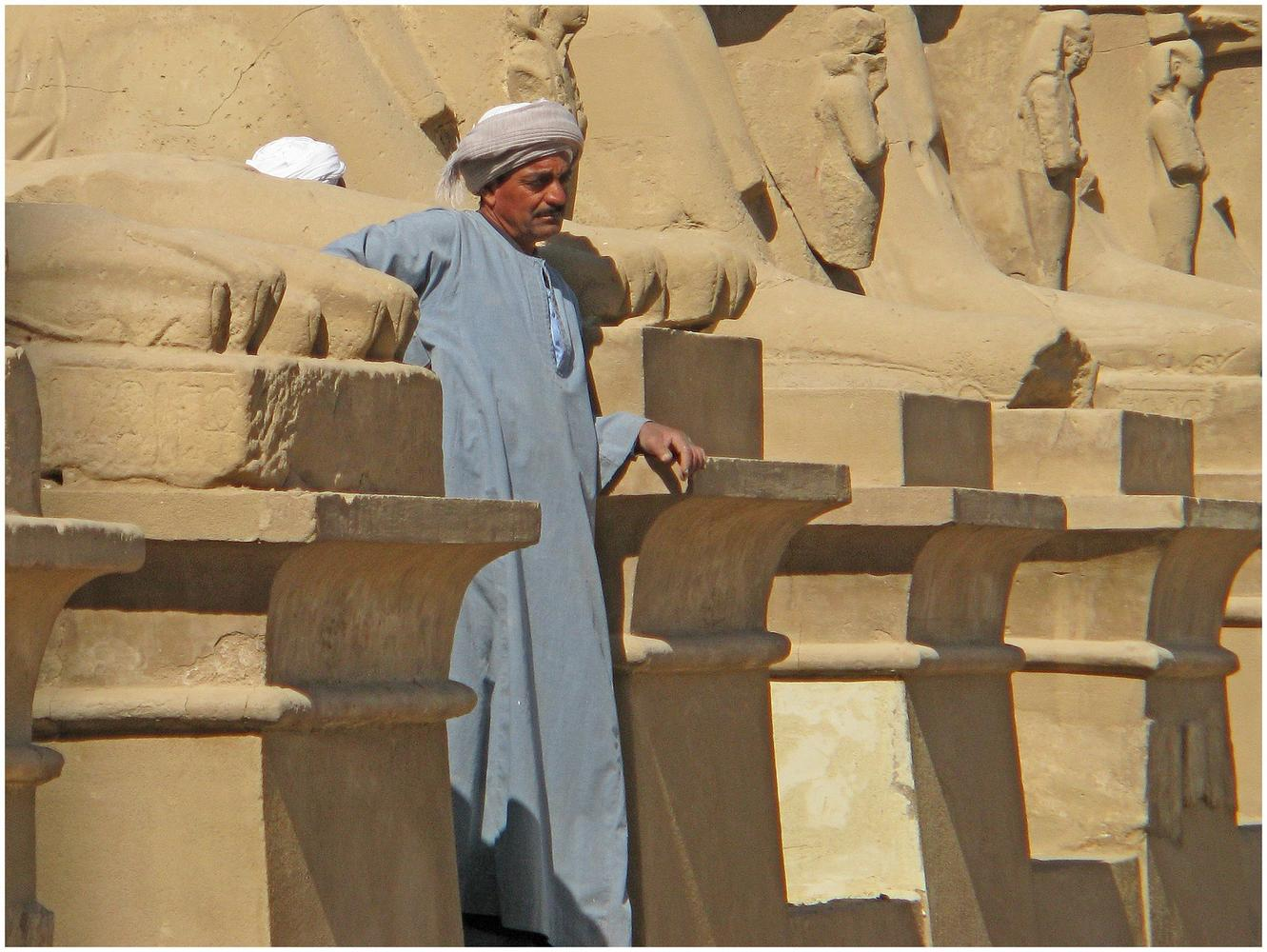 Avenue of the Sphinxes, Luxor, Egypt