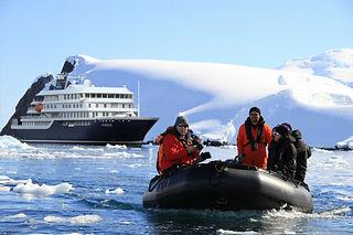 MV Hondius in Antarctica