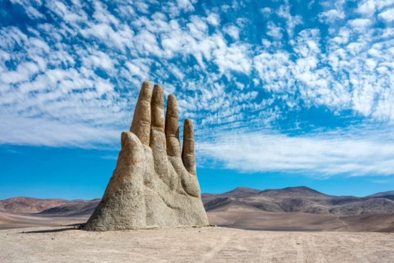 The Hand of the Desert Antofagasta