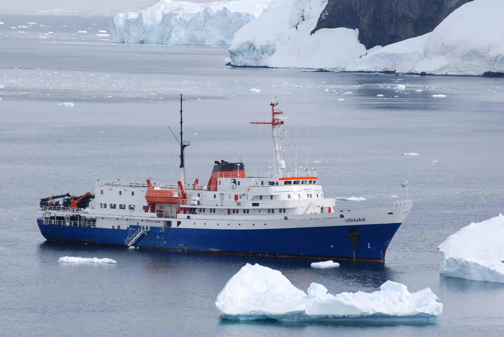 MV Ushuaia Antarctica