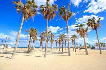 Valancia Beach Spain