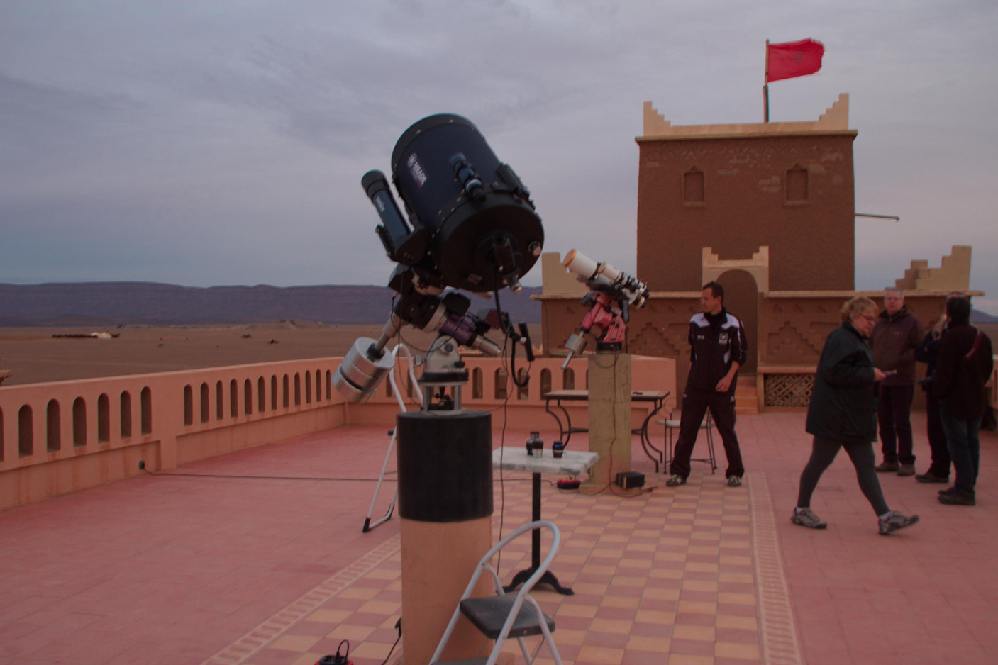 Morocco, Geminid Meteor Showers 2013