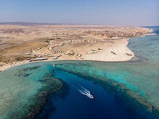 Marsa Alam coastline, Red Sea, Egypt