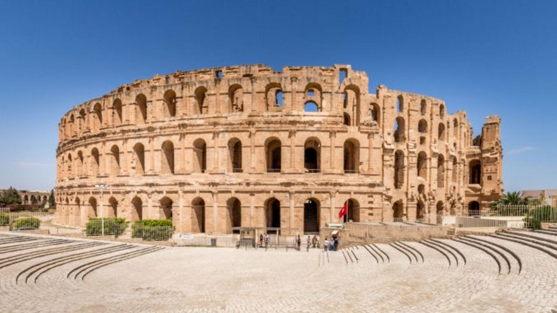 El Djem Amphitheatre, Tunisia