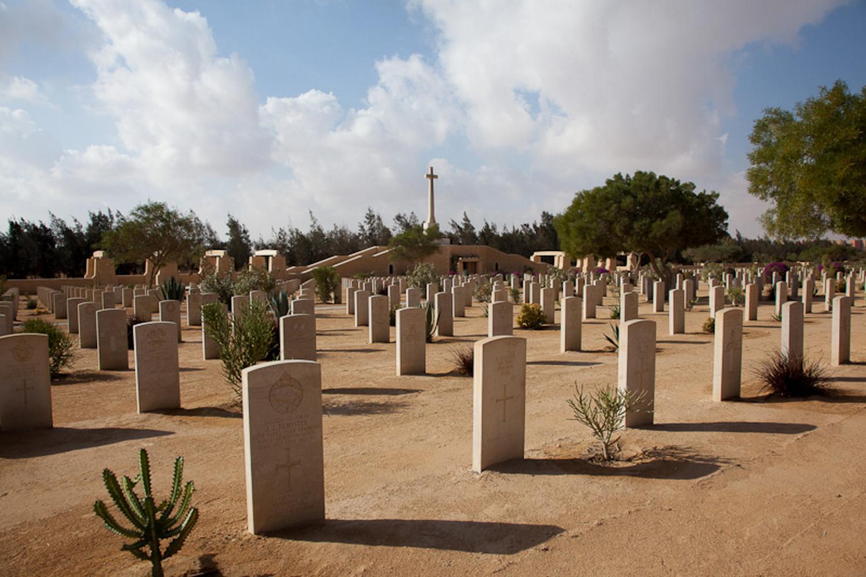 El Alamein Cemetery, Egypt