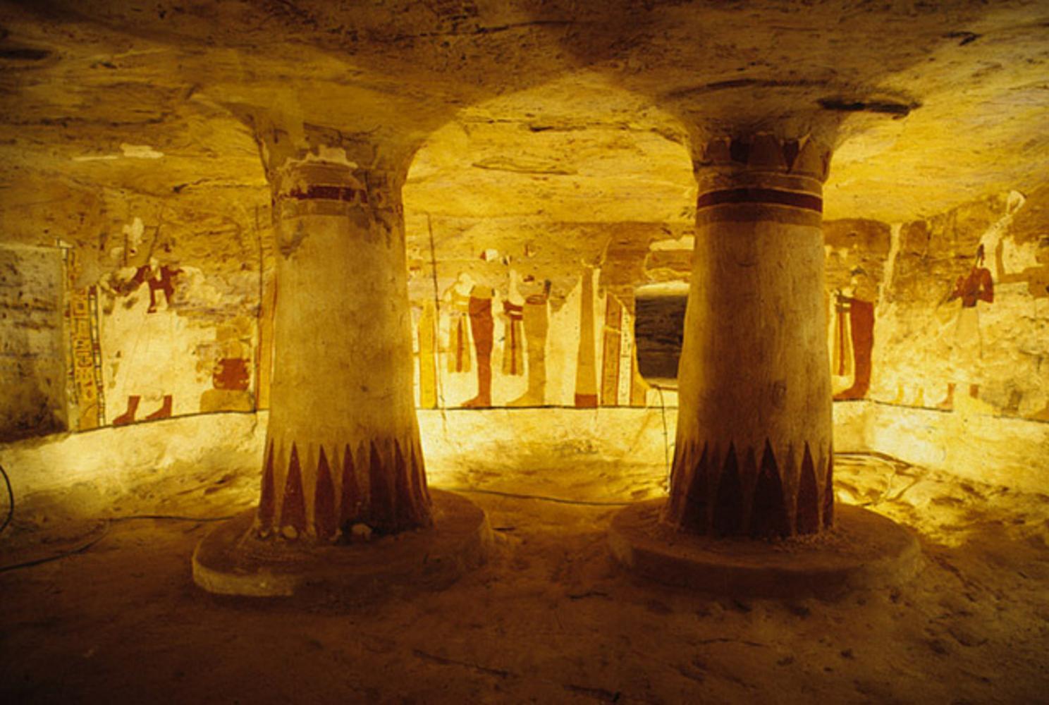 Valley of the Golden Mummies, Egypt