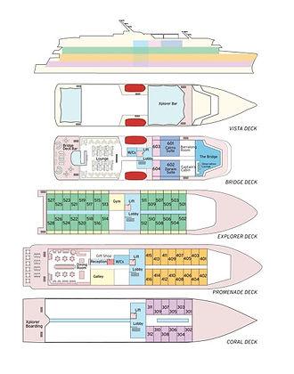 Deck Plan Coral Adventurer