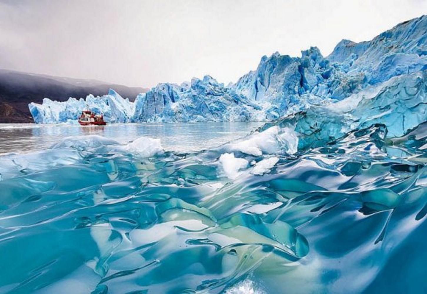 Lake Grey, Grey Glacier, Patagonia, Chile
