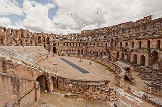 Amphitheatre of El Djem, Tunisia