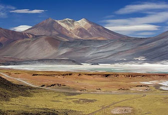 Atacama lagoon, Chile