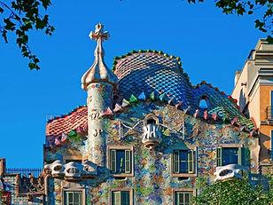 Casa Battlo, Barcelona Spain