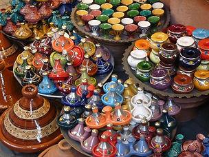 Tagine dishes, Morocco Market