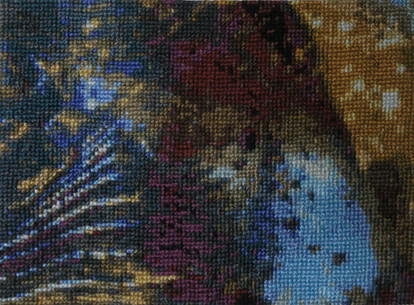 Abstract to Cross Stitch - One Tread