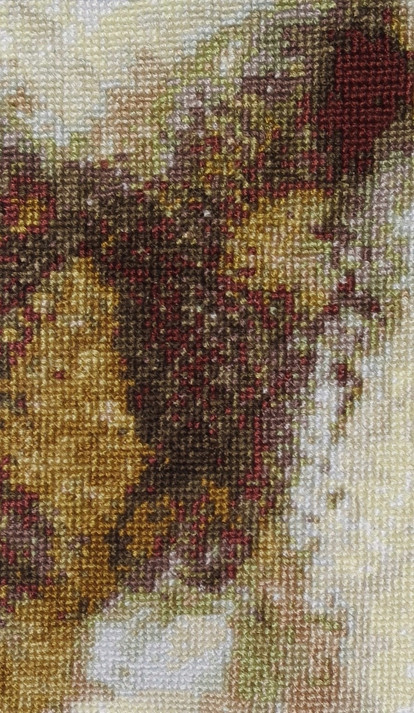 Abstract to Cross Stitch