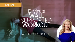 Wall Workout for Stress Release