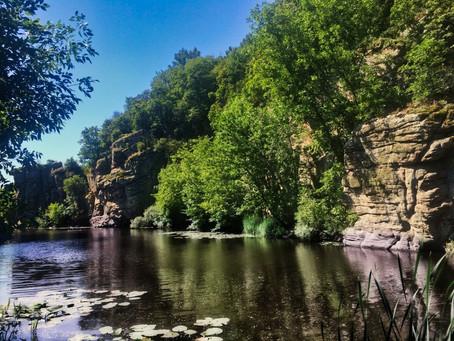 Куда поехать на выходные с палаткой: Букский каньон