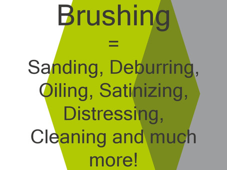 Brushes do so much more than just brushing!