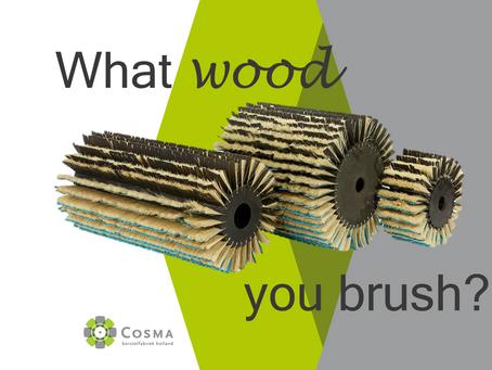 What Wood You Brush? Cosma brushes for any wood finish!