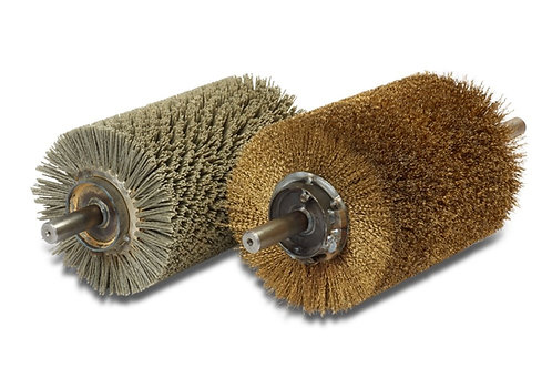 Rotary Brushes - Steel Wire - Distressing