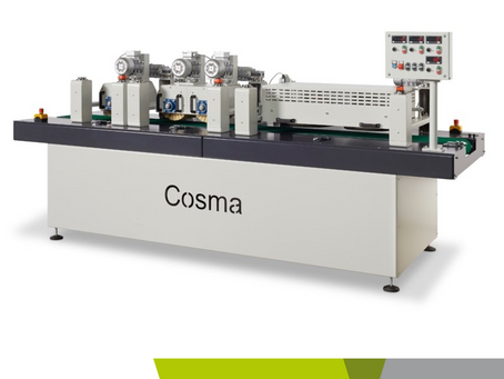 New opportunities: increase your production with Cosma's machines