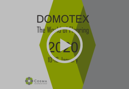 Domotex 10-13 January 2020, save the date and get your free entry ticket!