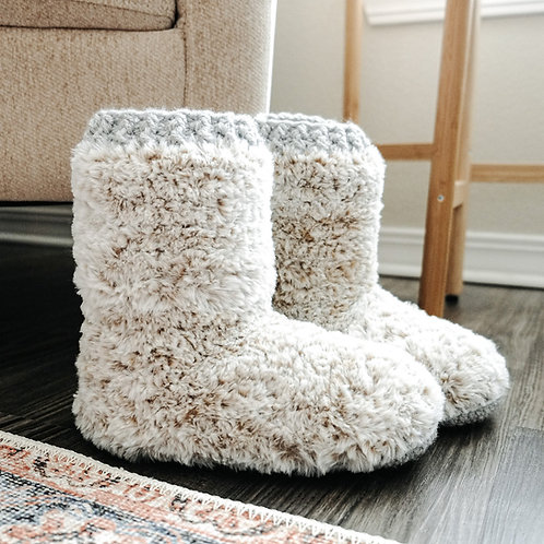 Snowed In Cabin Slippers
