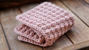 Easy Berry Stitch Cotton Cloth Crochet Pattern