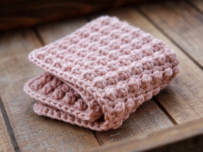 Easy Berry Stitch Cotton Cloth Crochet Pattern