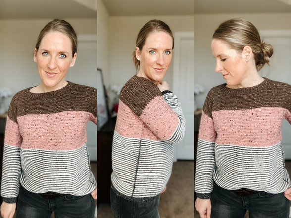 Crochet Pattern   Neapolitan Pullover