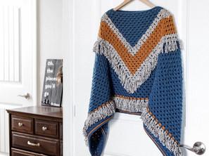 Vandyke Poncho Crochet Along (CAL)