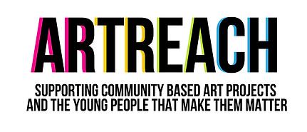 ArtReach Logo with Tagline- White Backgr
