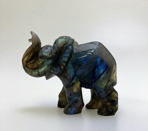 Labradorite Elephant