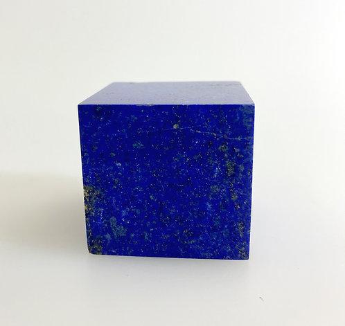 Lapis Lazuli Cube