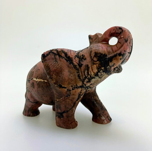 Rhodonite Elephant