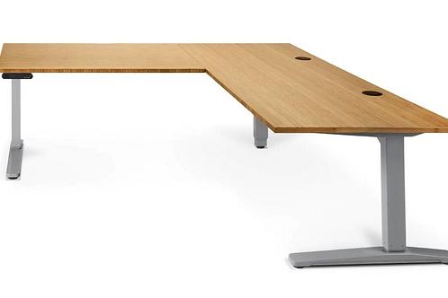 UPLIFT L-Shape Standing Desk 80 Inch