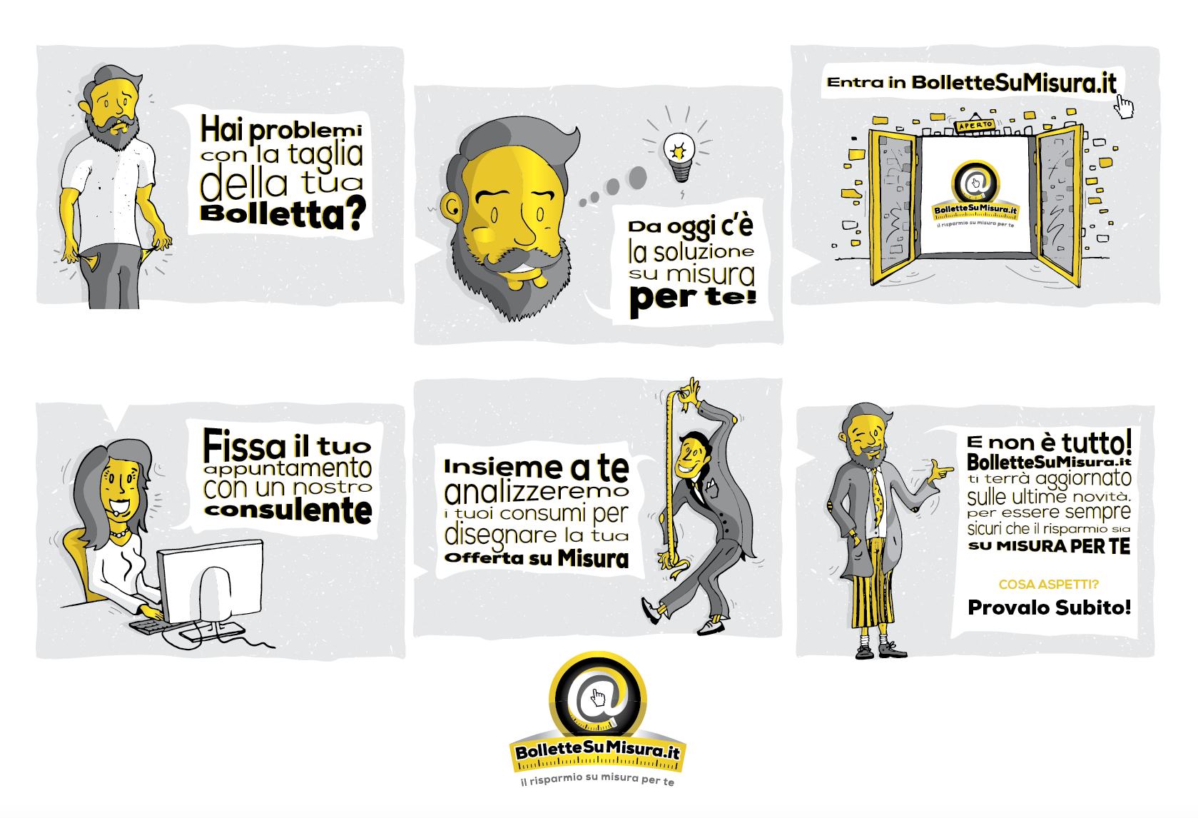 illustrazioni BOLLETTE SU MISURA.it