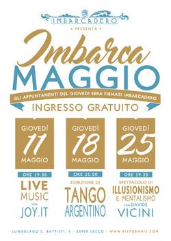 Cartellonistica Imbarca Maggio 2017