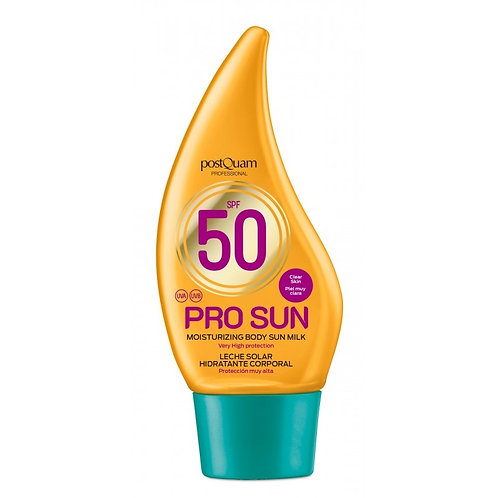 SPF 50 PRO SUN MOISTURIZING BODY SUN CREAM