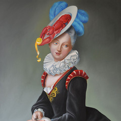 Lady with an oyster