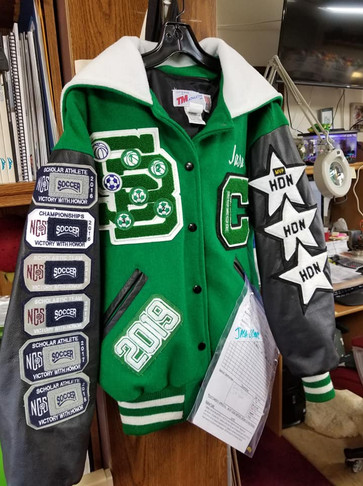 Varsity Jacket (SB) Front