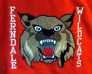 Custom Embroidered Wildcats Mascot