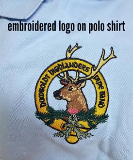 Custom Logo on Polo Shirt