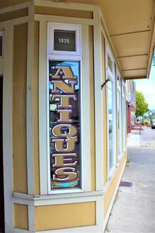 Fortuna has many antiques shops.