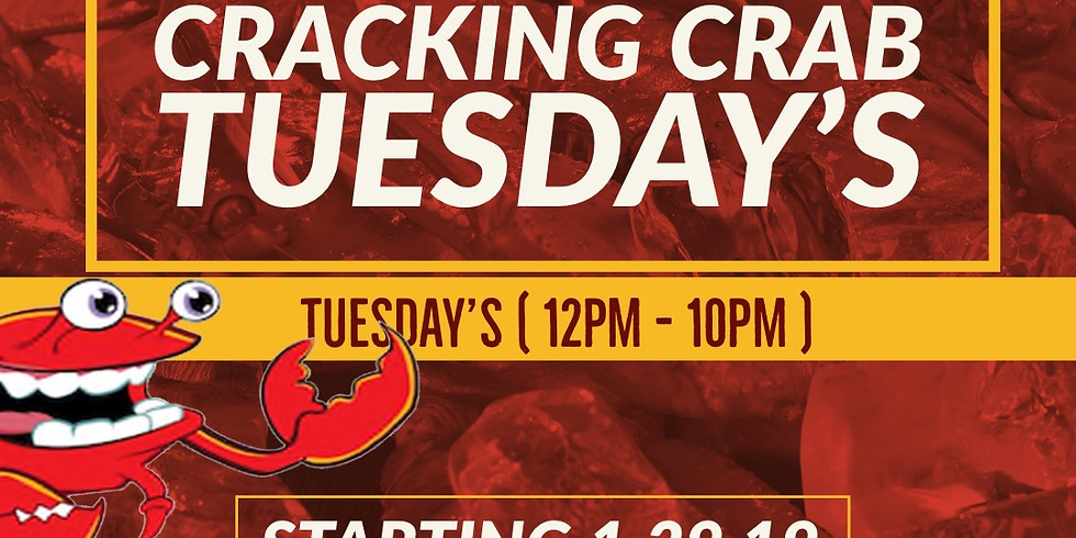 Exotic Unlimited Crackin Crab Tuesdays